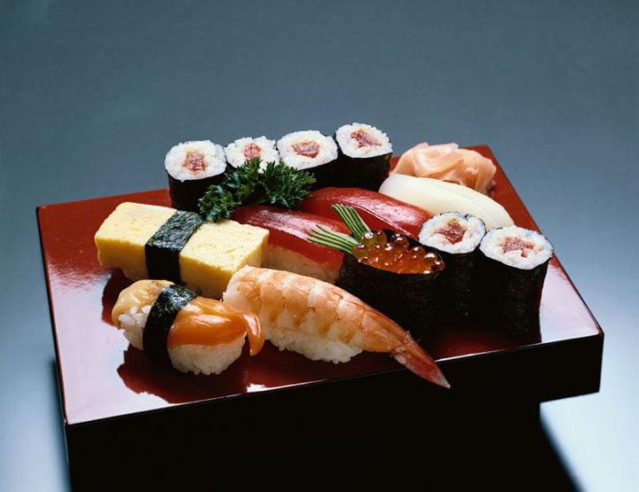 Tosha Kauffman: Green Eggs and Ham Sushi Recipe | Steamy Kitchen
